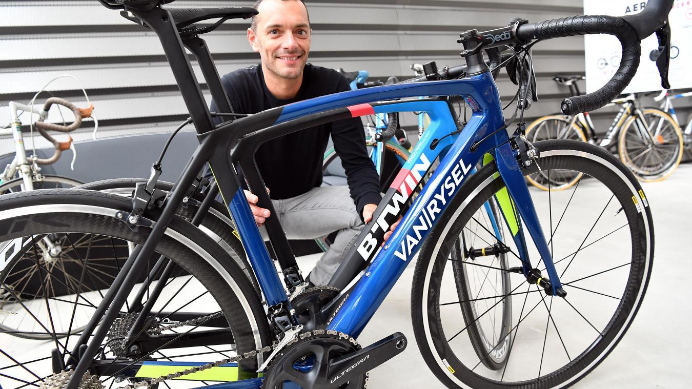 Ce vélo Van Rysel dont Lille et le B'Twin village de Decathlon sont la mère patrie