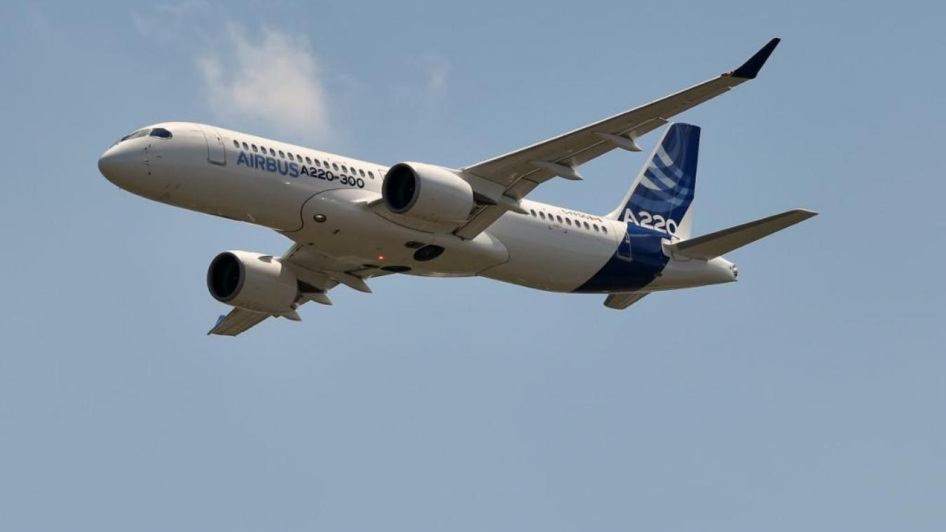 Les Airbus A220 ne peuvent plus voler plein gaz après plusieurs incidents