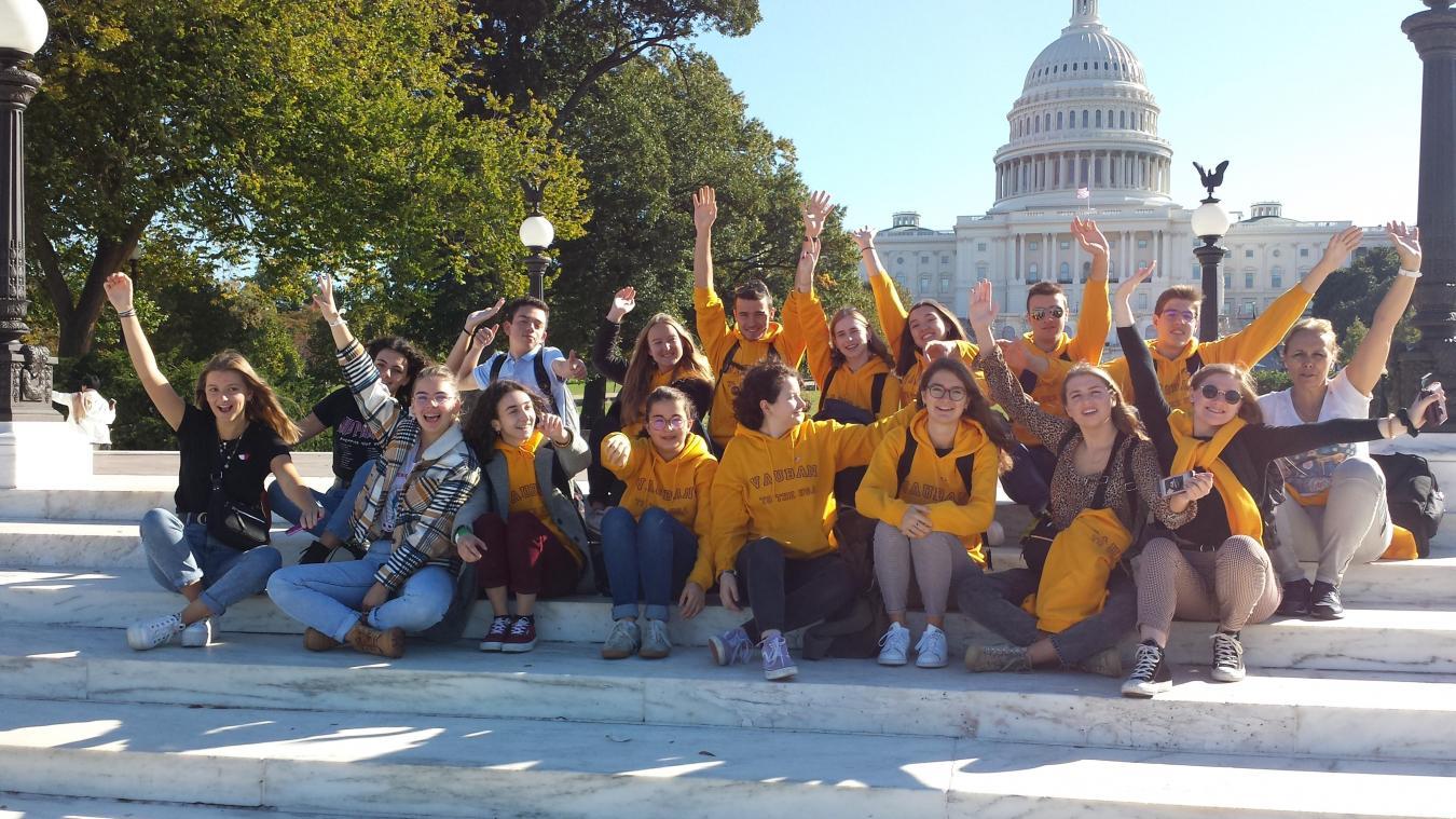 Des lycéens de Vauban de retour à l'école après un voyage de dix jours aux États-Unis - La Voix du Nord