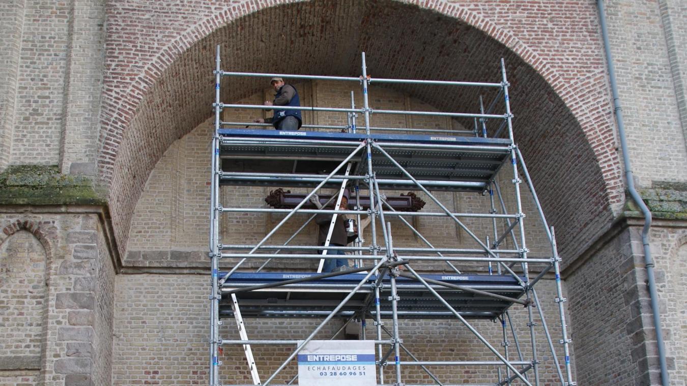 Wormhout: Yser Houck termine la restauration de tous les calvaires de la ville - La Voix du Nord
