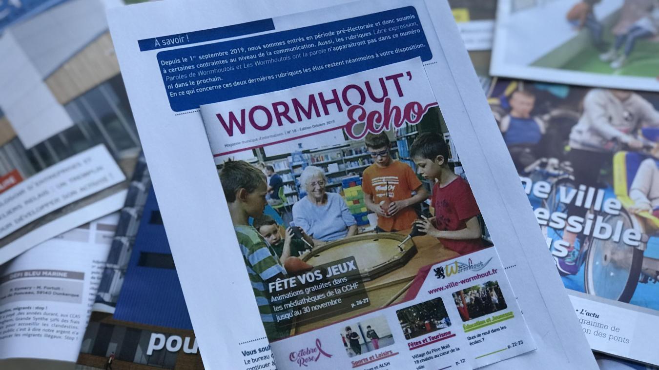 Wormhout: la disparition de la rubrique «libre expression» du bulletin municipal est-elle légale? - La Voix du Nord