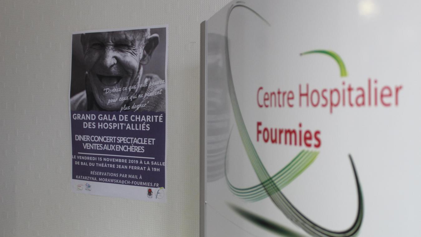 Fourmies : un gala de l'hôpital pour offrir des repas gastronomiques aux aînés - La Voix du Nord