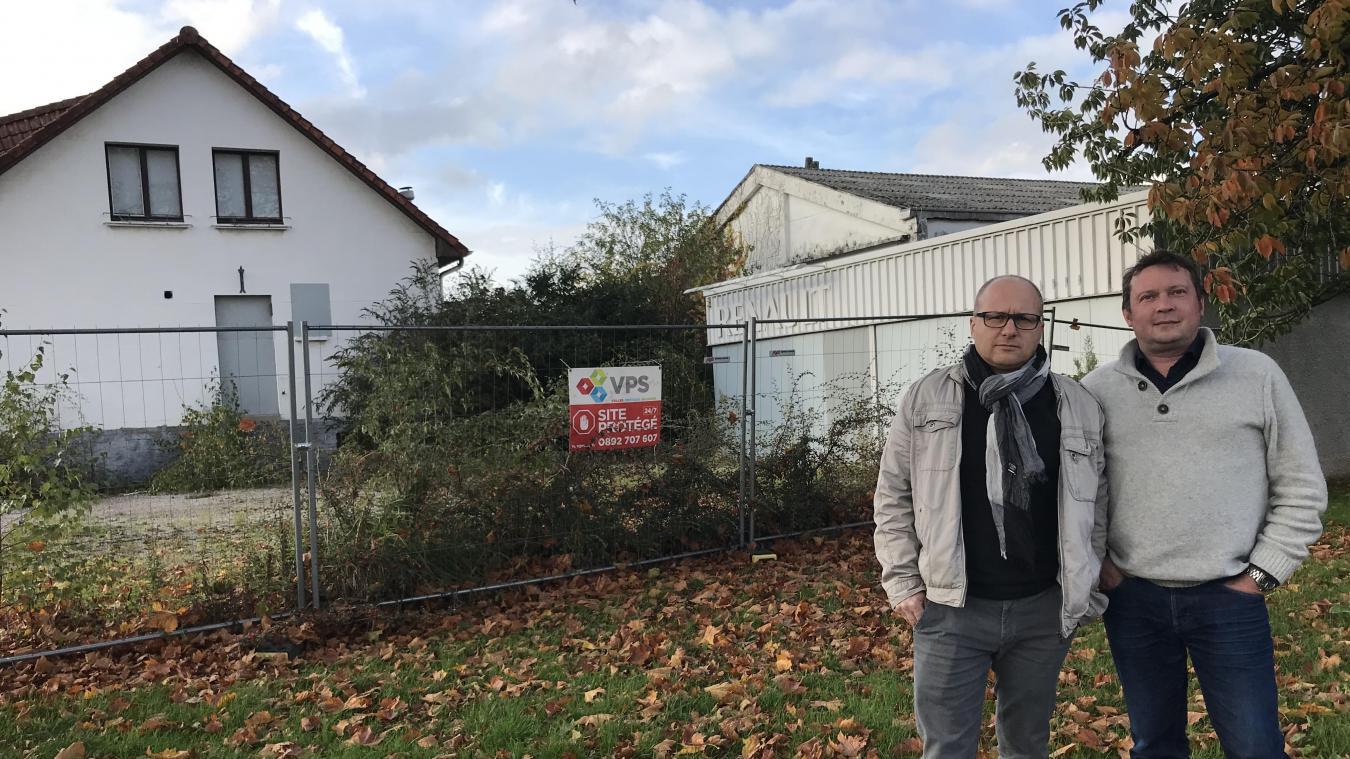 Le collectif Gruson à Lambersart reste mobilisé contre la hauteur du projet immobilier - La Voix du Nord