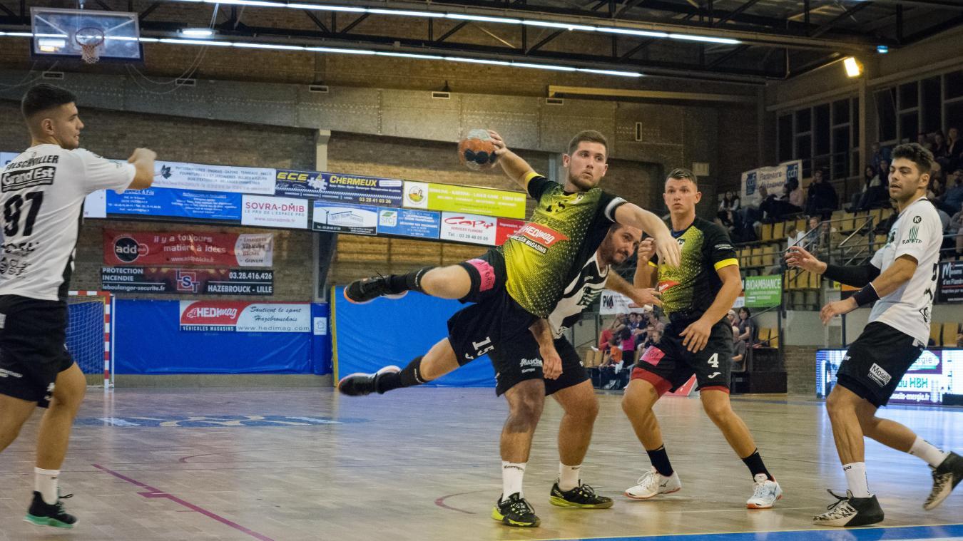 Handball (N1M): Clément Carbon et Hazebrouck à l'épreuve du leader Ivry - La Voix du Nord