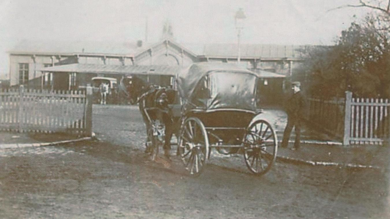 La première gare de Saint-Omer était implantée à une centaine de mètres de la gare actuelle - La Voix du Nord