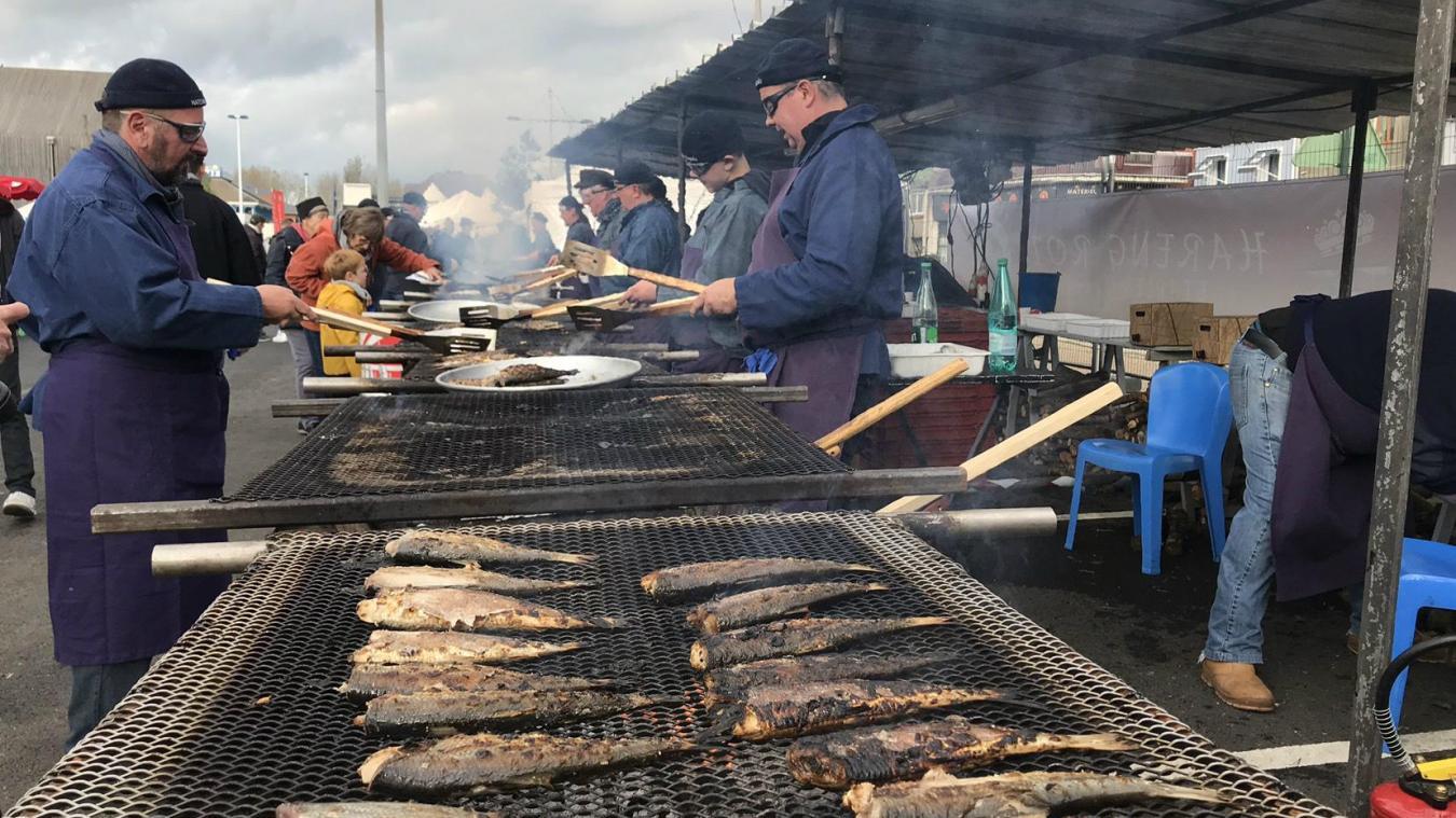 La fête du Hareng roi est lancée, sur le port d'Étaples - La Voix du Nord