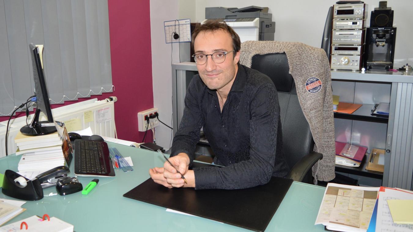 Fourmies: Olivier Cambier, nouveau directeur du Pôle d'enseignement musical - La Voix du Nord