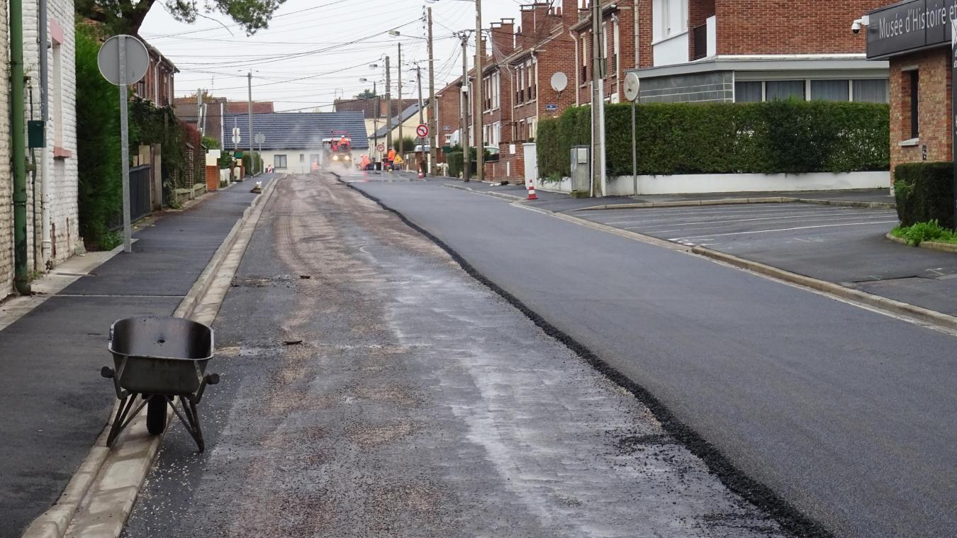 Harnes : les travaux se terminent rue de Picardie - La Voix du Nord