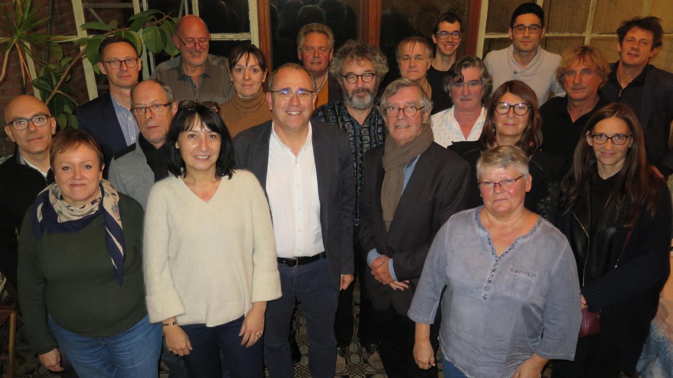 À Loos, communistes, socialistes et écologistes unis derrière Frédéric Tréca - La Voix du Nord