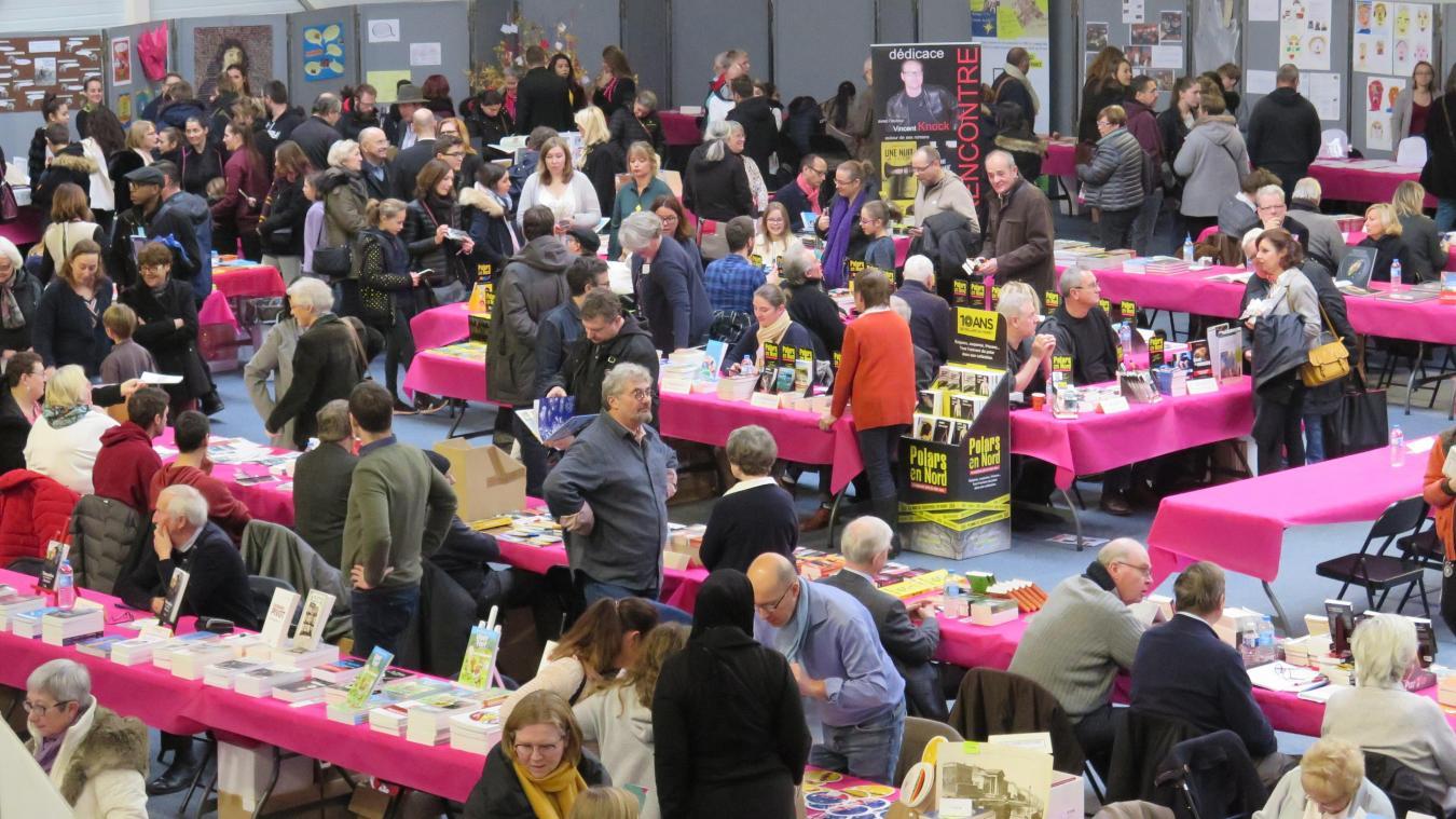 Près de cent auteurs sont attendus au salon du livre de Loos le 30 novembre - La Voix du Nord