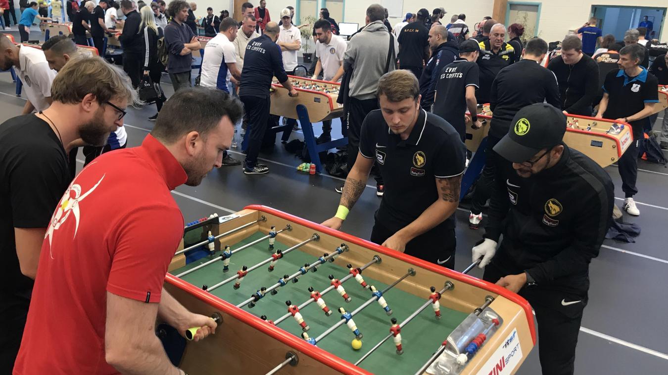 À Montreuil, le gratin international du baby-foot réuni pour un grand tournoi - La Voix du Nord