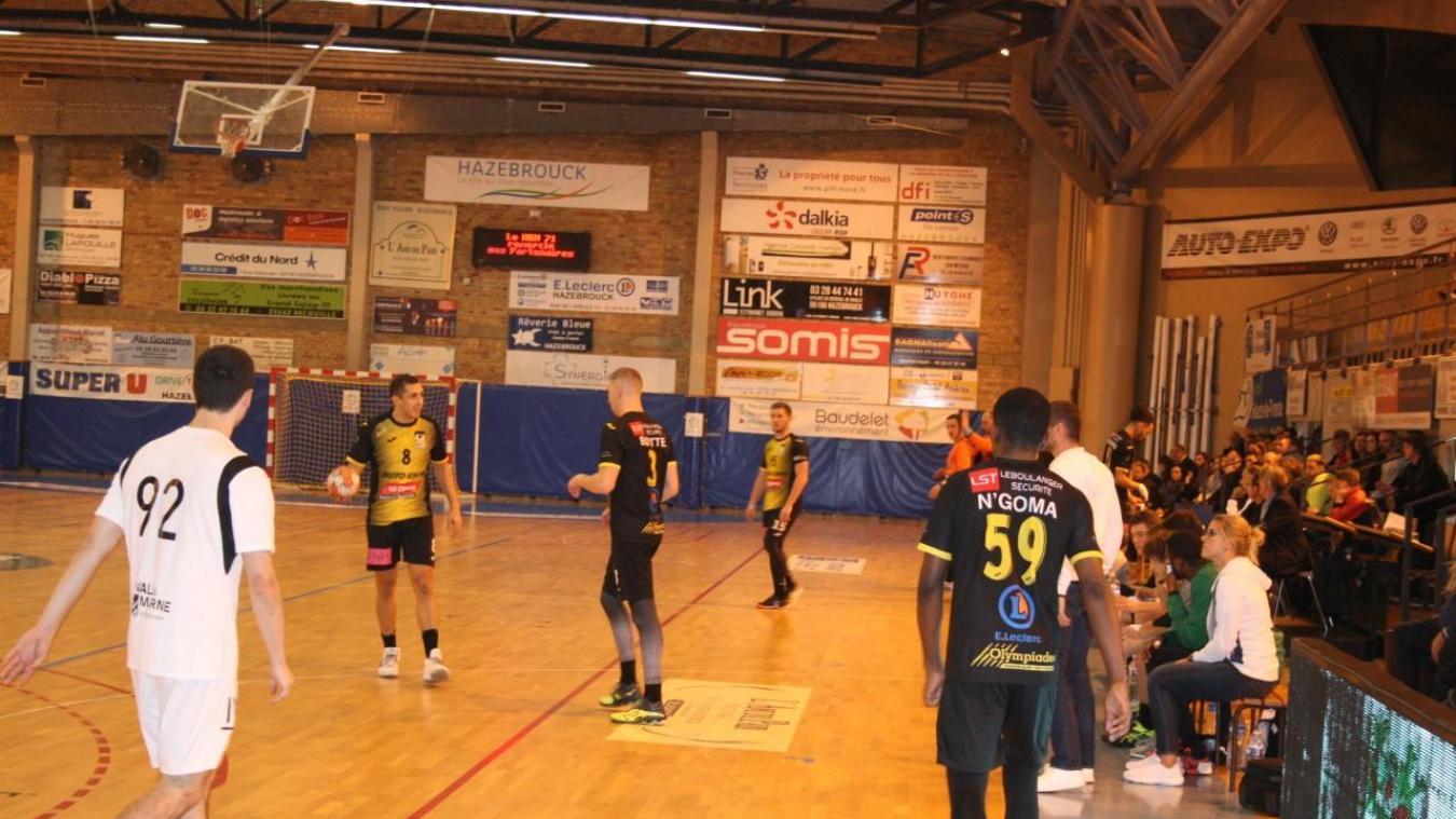 Handball (N1) : Hazebrouck inflige sa première défaite à Ivry - La Voix du Nord