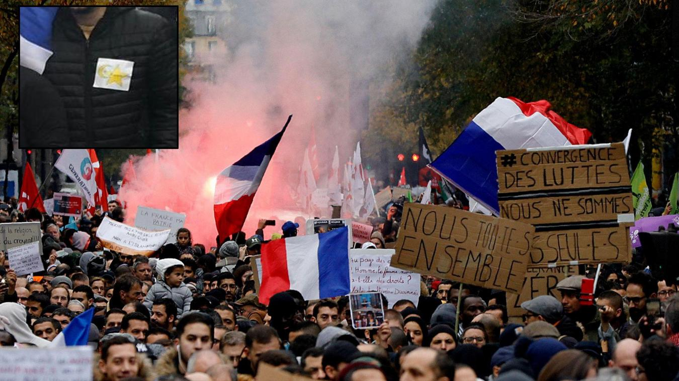 Marche contre l'islamophobie: le port de l'étoile jaune est un «dérapage» - La Voix du Nord