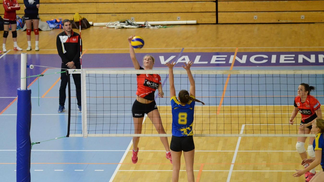 Volley-Ball (Nationale 3 Féminine): Valenciennes a passé un après-midi bien trop tranquille - La Voix du Nord