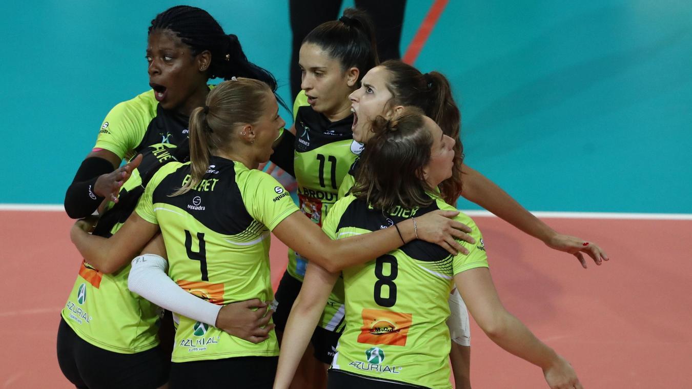 Volley (Élite féminines): Harnes avance doucement mais sûrement - La Voix du Nord