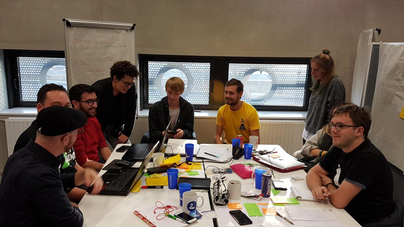 précédent À Valenciennes, neuf start-up créées le temps d'un week-end - La Voix du Nord