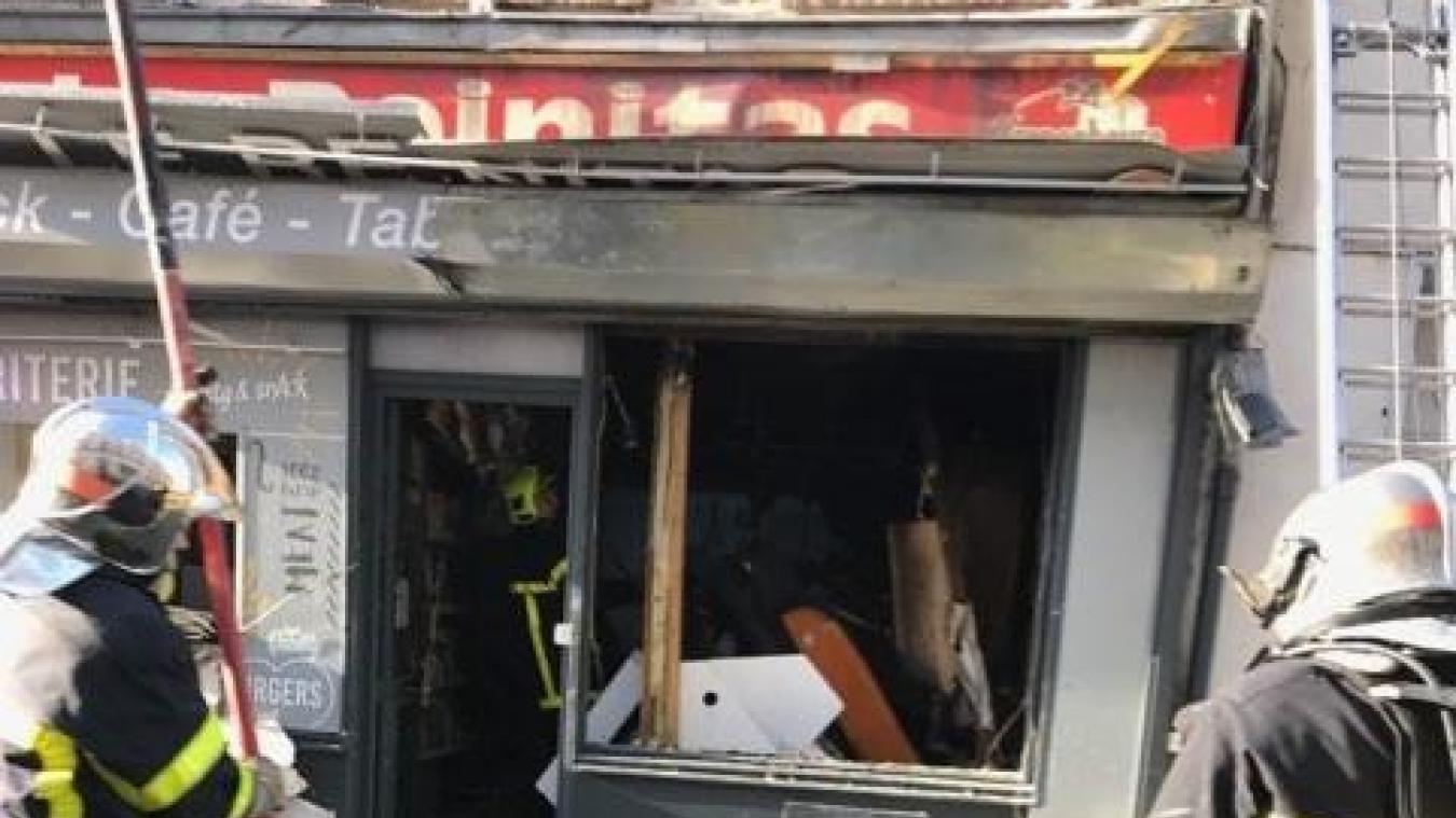 Un incendie a dévasté Le Reinitas, à Saint-Omer - La Voix du Nord