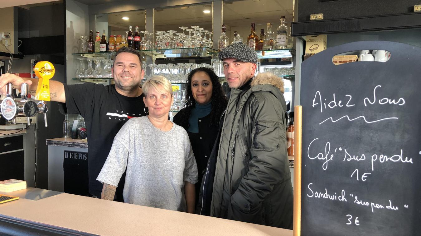 Maubeuge : avec les cafés suspendus, le goût de la solidarité à Tendances terroir - La Voix du Nord