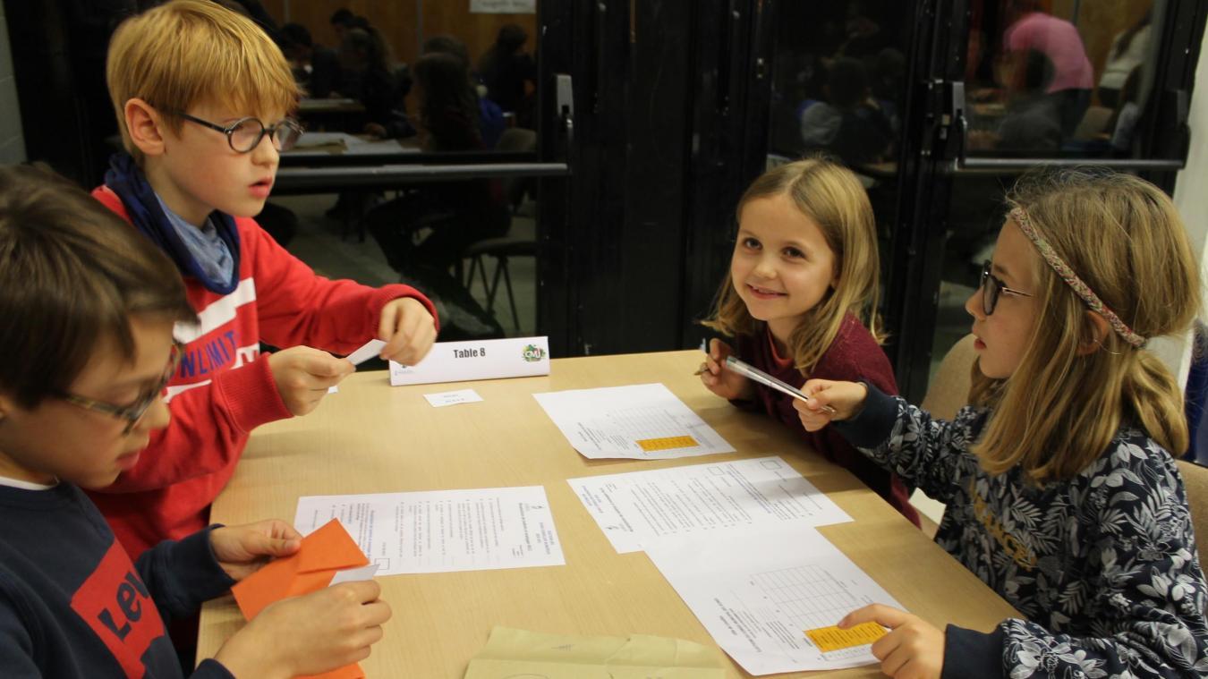Linselles: les enfants ont élu leur nouveau conseil municipal - La Voix du Nord