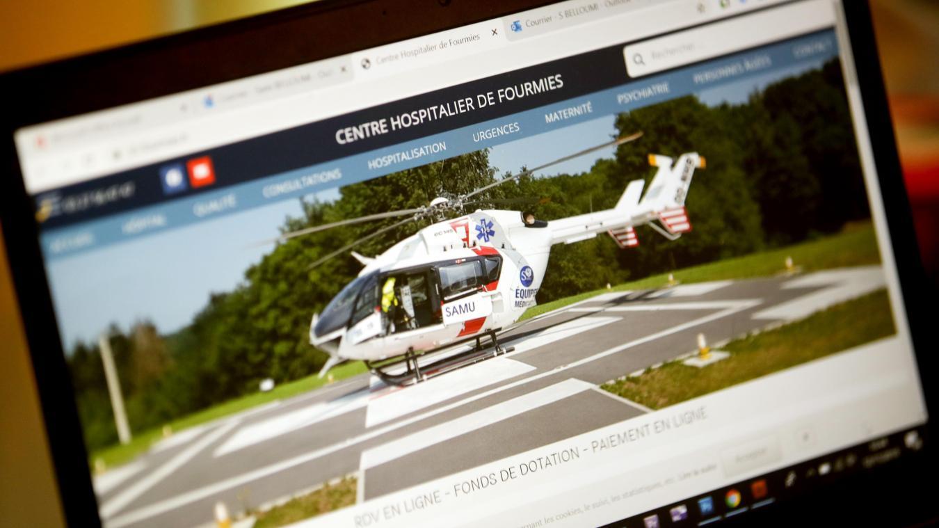 Fourmies : un nouveau site Internet pour l'hôpital, réalisé par un salarié - La Voix du Nord