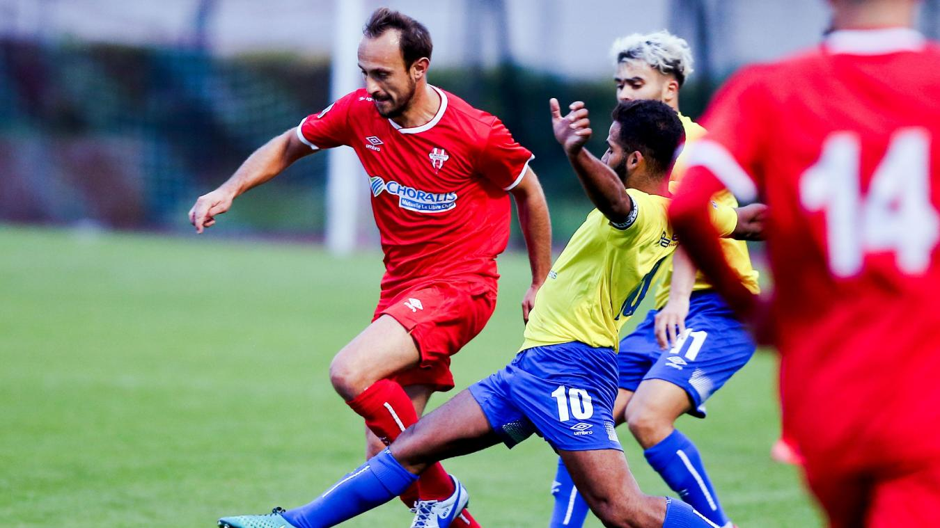 Football (Nationale 3) : Maubeuge accroche le leader Vyminois - La Voix du Nord