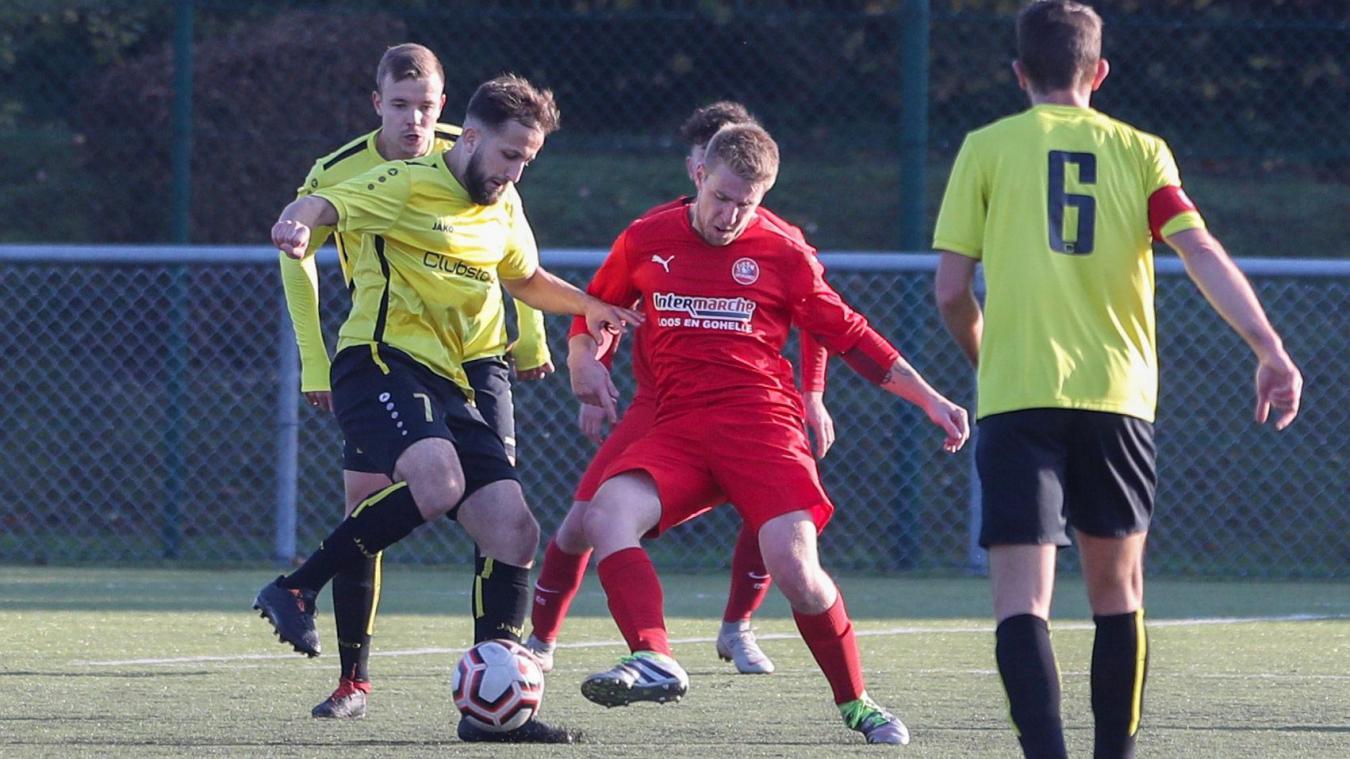 Football (Régional 1) : à Loos-en-Gohelle, Cambrai a su se montrer patient - La Voix du Nord