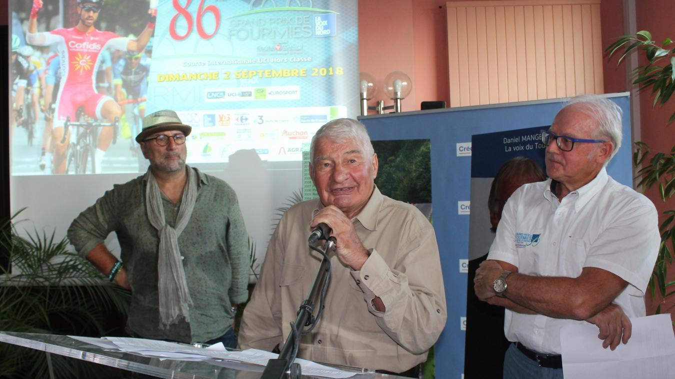 Fourmies : le Grand Prix cycliste pleure son ami Raymond Poulidor décédé - La Voix du Nord