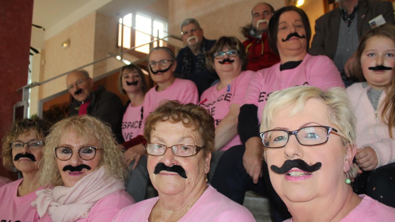 Fourmies : contre le cancer de la prostate… les dames portent la moustache! - La Voix du Nord