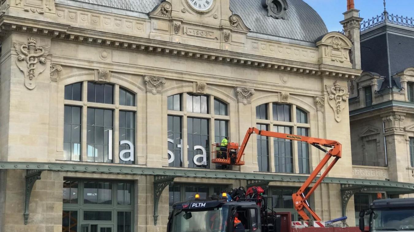 Saint-Omer : la gare sera inaugurée ce week-end, mais les travaux ne sont pas finis - La Voix du Nord