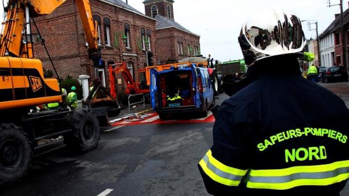 Aniche : cinquante clients privés de gaz après une fuite - La Voix du Nord