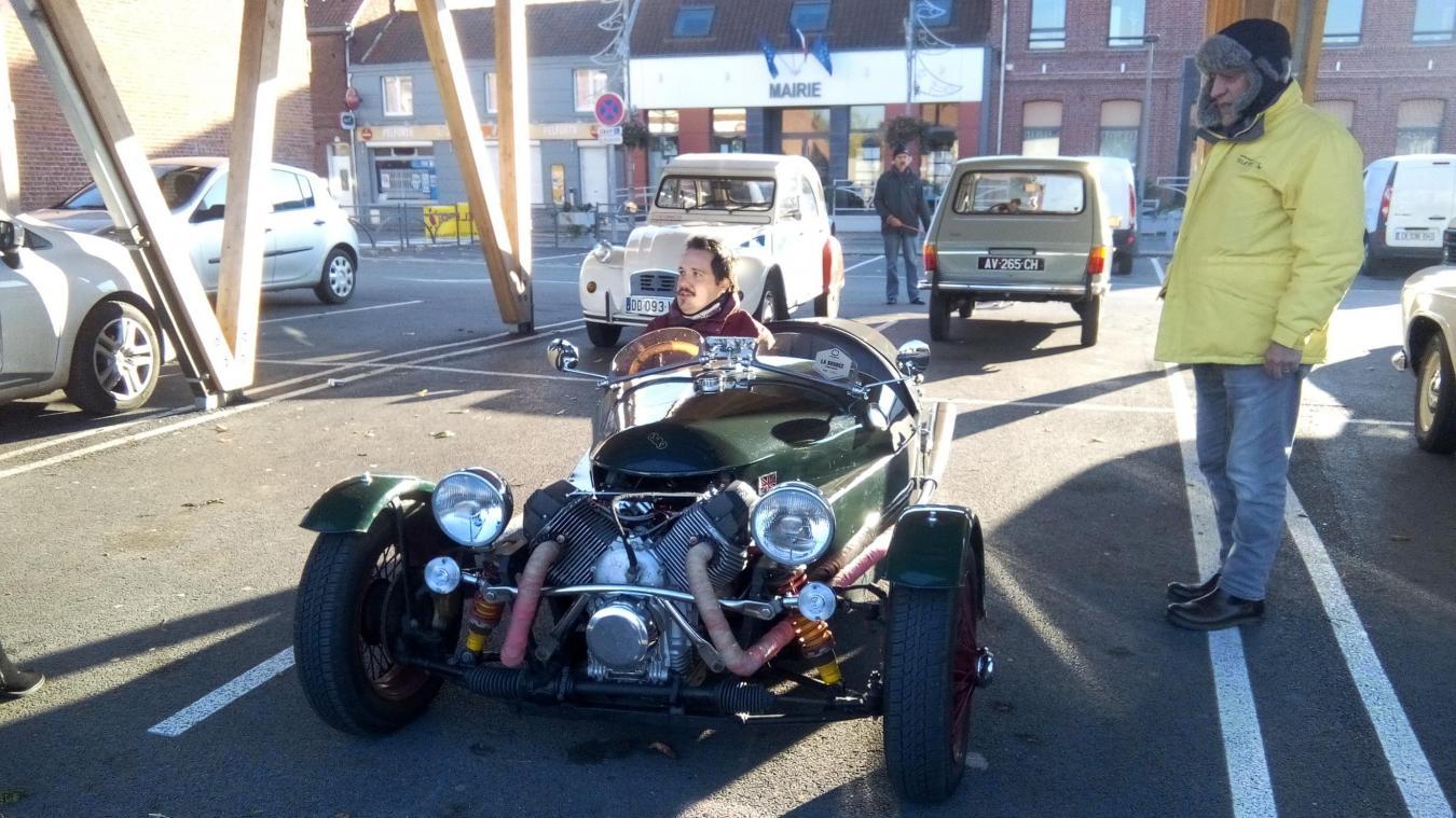 Beuvry-la-Forêt: les Monty Pistons sortent leurs vieilles voitures au profit du Téléthon - La Voix du Nord