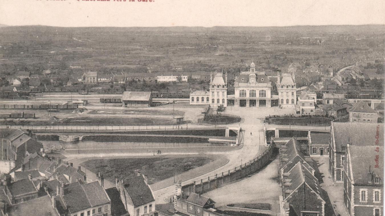 L'ex-nouvelle gare de Saint-Omer était inaugurée le dimanche 12 juin 1904 - La Voix du Nord