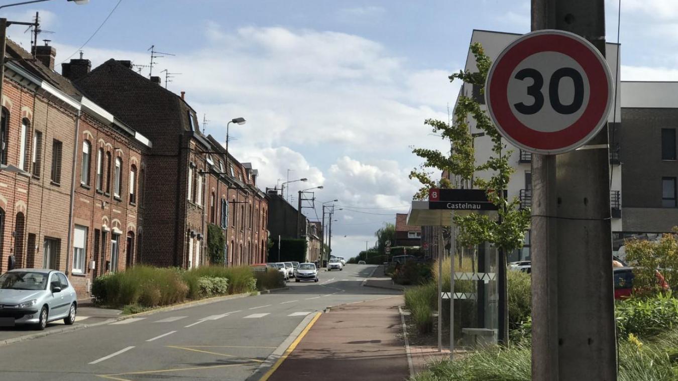 Linselles: une réunion pour réduire la vitesse rue Castelnau, le samedi 30 novembre - La Voix du Nord