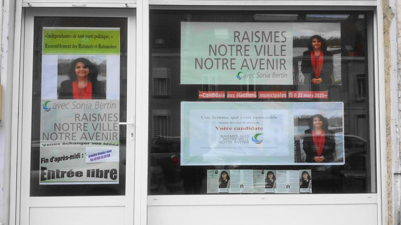 précédent À Raismes, Sonia Bertin a ouvert son local de campagne - La Voix du Nord