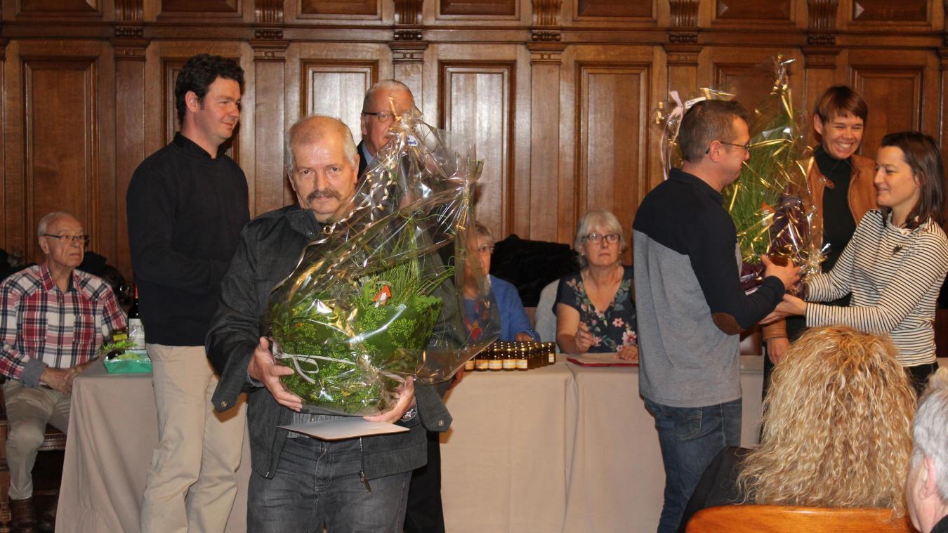 Tourcoing : remise de prix aux participants du concours des maisons fleuries. - La Voix du Nord