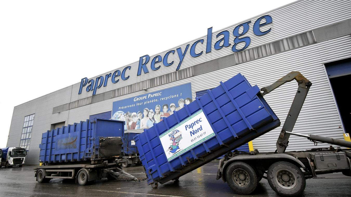 À Harnes, le centre de tri Paprec est prêt à accueillir tous les déchets plastiques du SMICTOM - La Voix du Nord