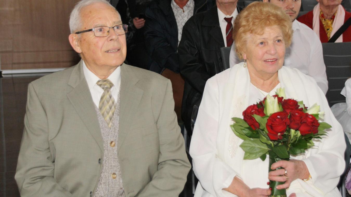 Avion: noces de diamant pour Marie-Louise et Claude - La Voix du Nord