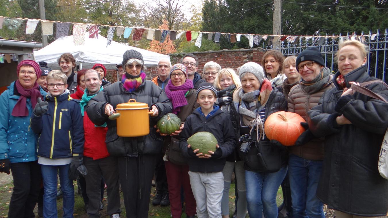 Lambersart : Les jardiniers des Quat'sous ont partagé leur première soupe - La Voix du Nord