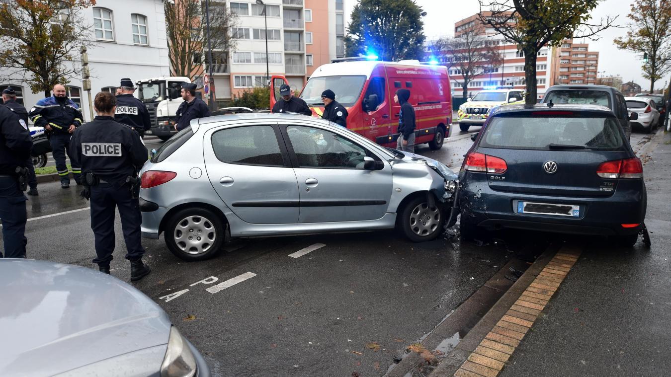 Roubaix: une piétonne grièvement blessée par une voiture, boulevard de Belfort - La Voix du Nord