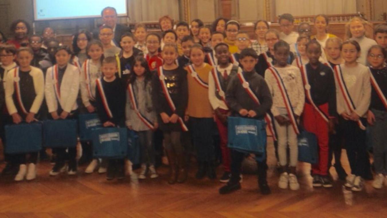Roubaix: Séance de rentrée pour le conseil municipal des enfants - La Voix du Nord