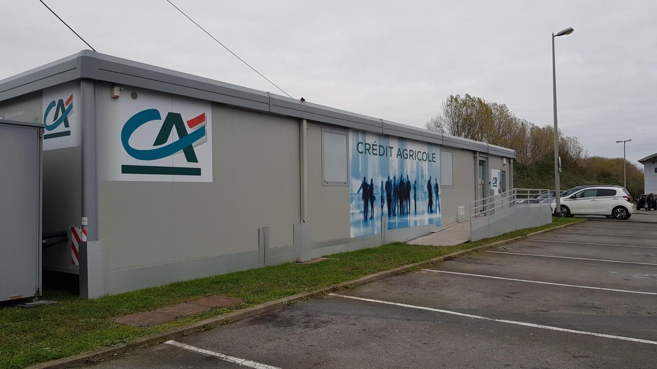 Bray-Dunes : des locaux provisoires pour le Crédit Agricole après le braquage - La Voix du Nord