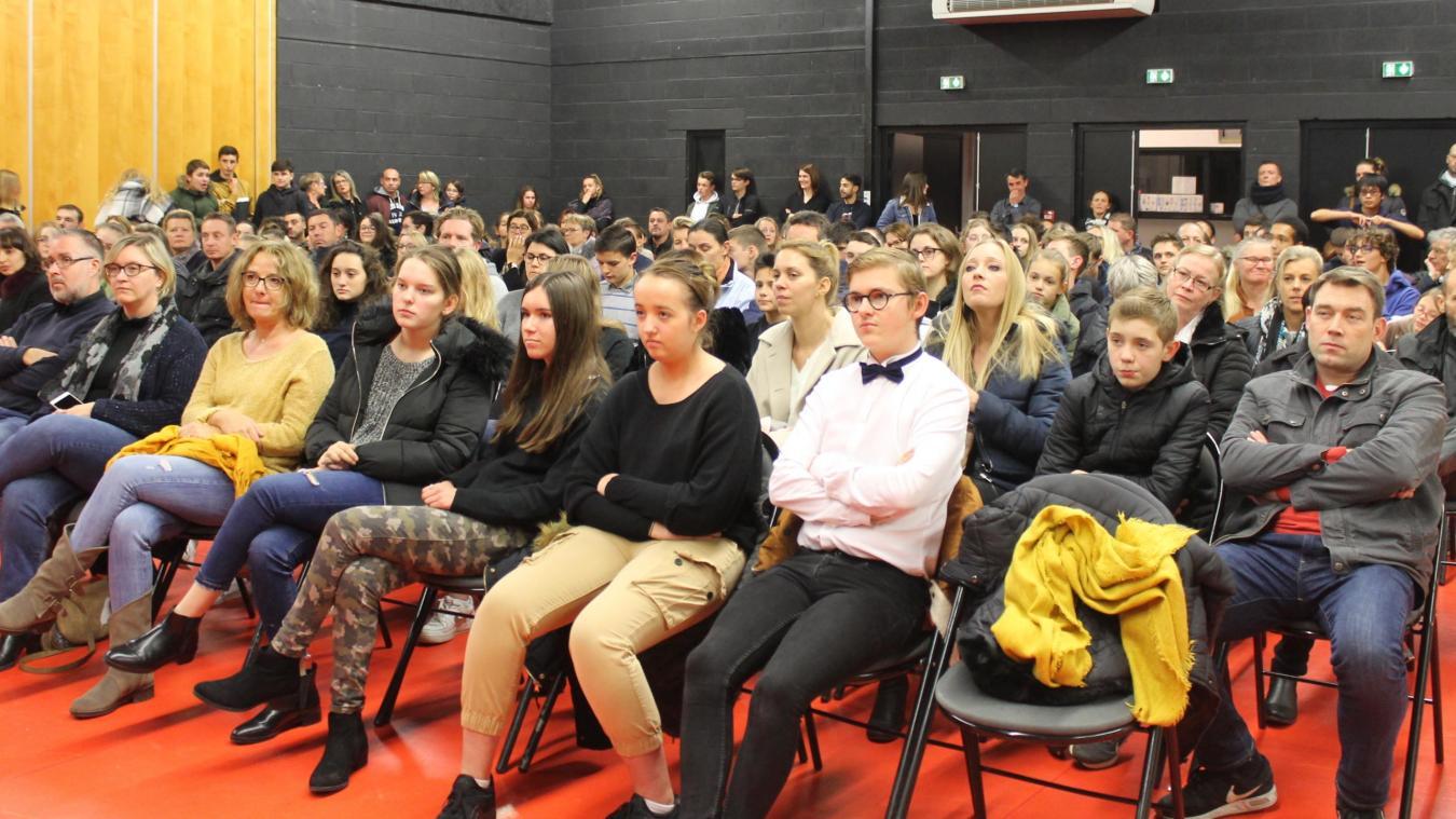 Linselles: une cérémonie de remise de diplômes du brevet à Henri-Matisse - La Voix du Nord