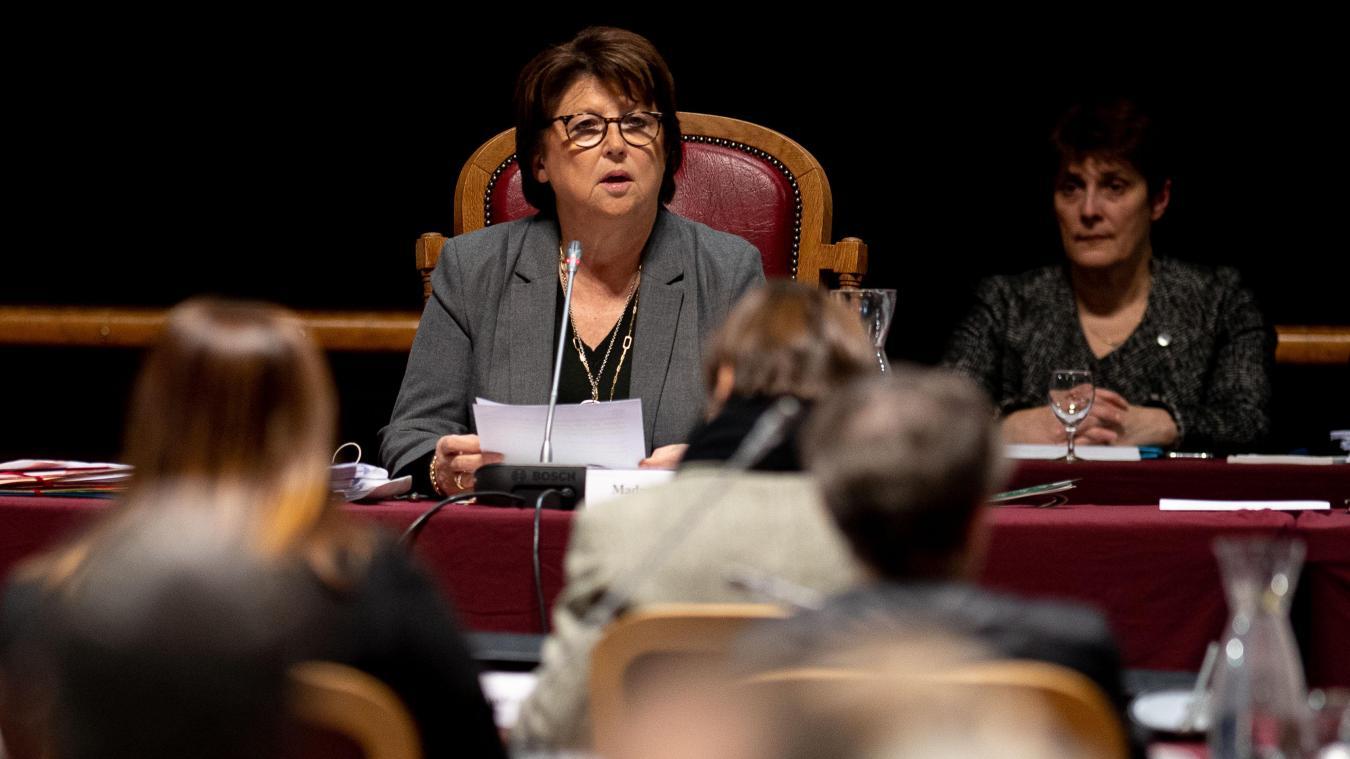 À Lille, le débat budgétaire tient son cap vert
