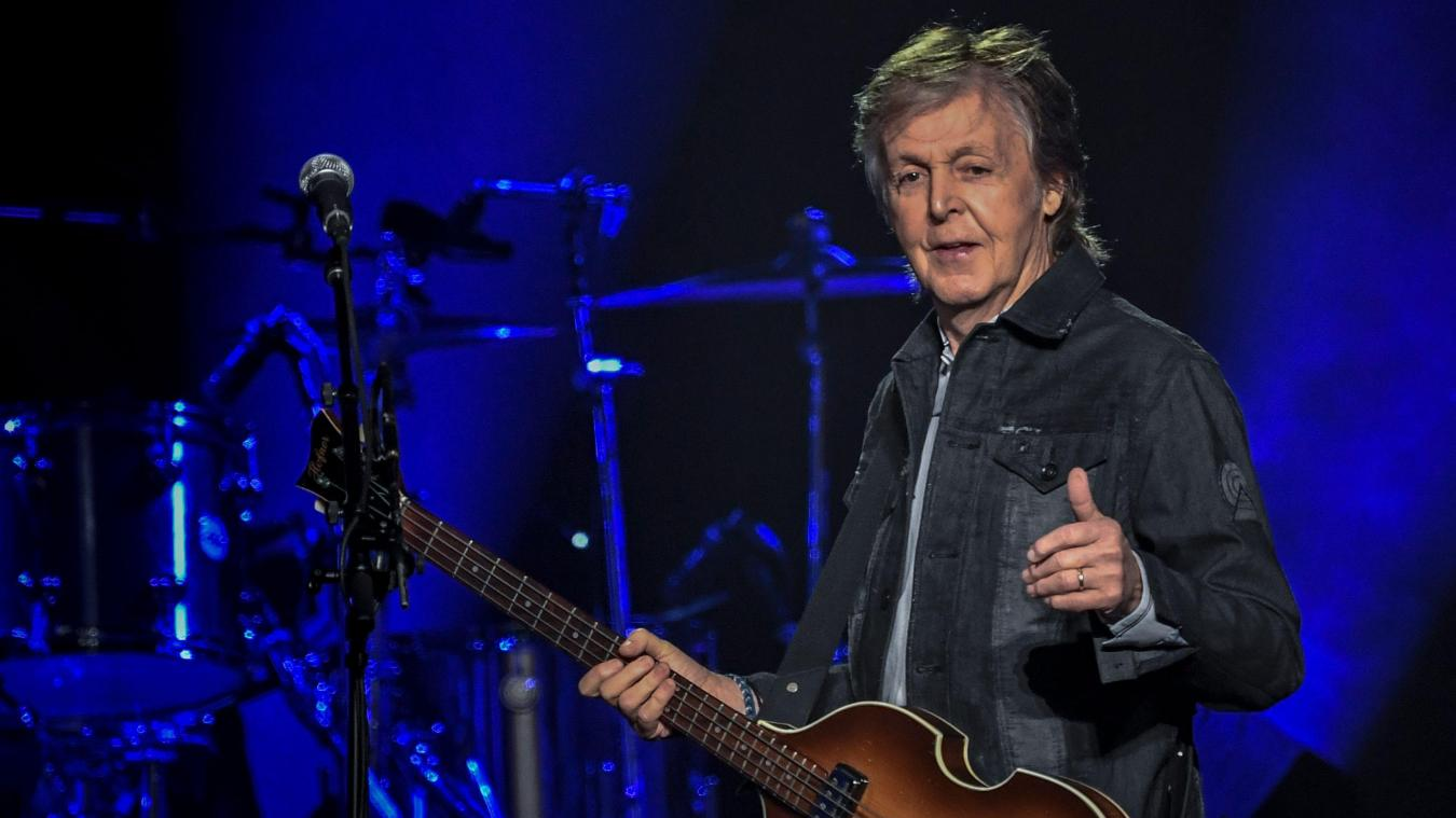 Paul McCartney en concert au Stade Pierre-Mauroy en 2020