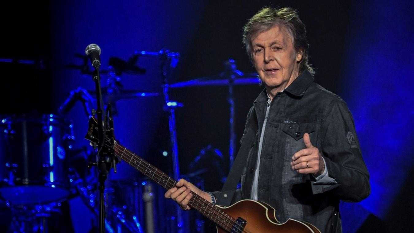 Concerts: Paul McCartney se produira à Lille en 2020