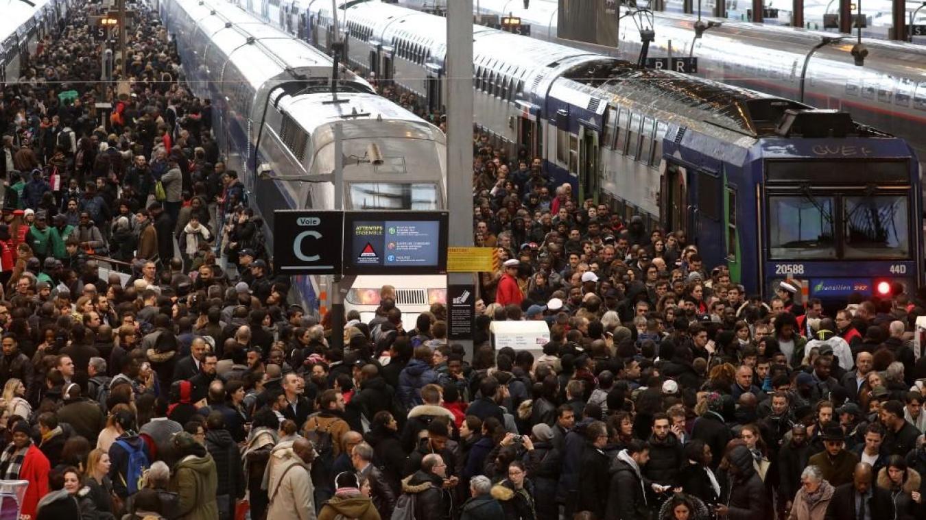 Grève SNCF : « Aucun train du 5 au 9 décembre », selon le vice