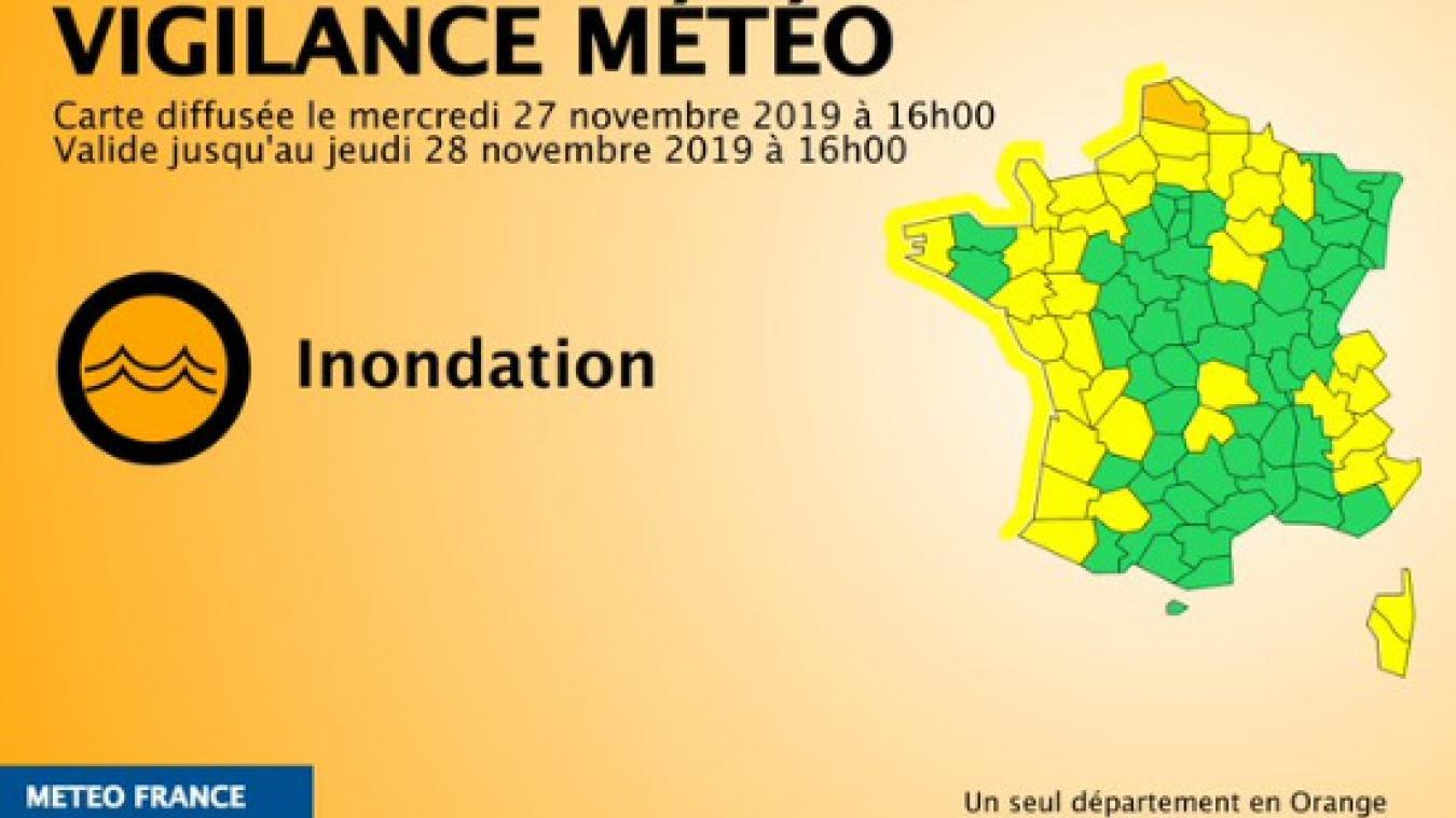 Le Pas De Calais Placé En Vigilance Orange Inondations