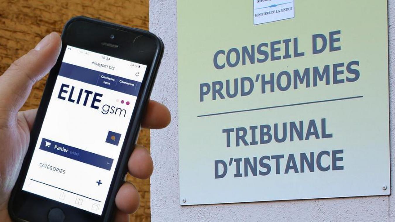 Il y a deux ans, l'ancien patron d'Élite GSM, installée à Roncq, fournisseur de téléphones portables vendus sur le web, cumulait les procédures.