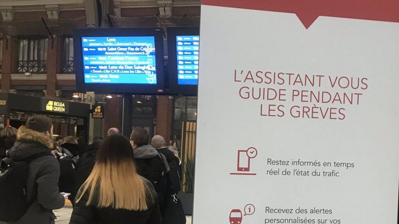 Calendrier Greves Sncf 2020.Greve A La Sncf Trafic Quasi Nul Dans Les Hauts De France