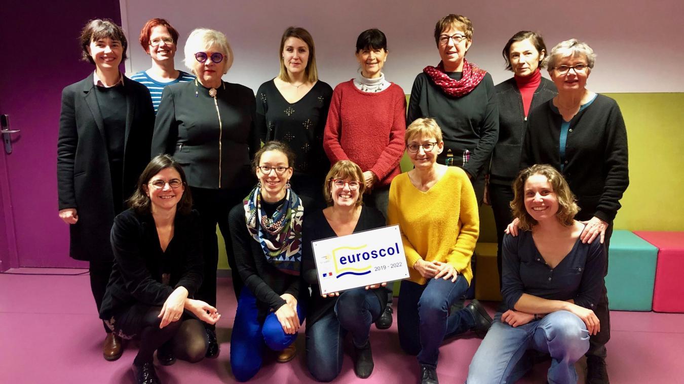 À Lille, l'école maternelle des Moulins récompensée pour son engagement européen